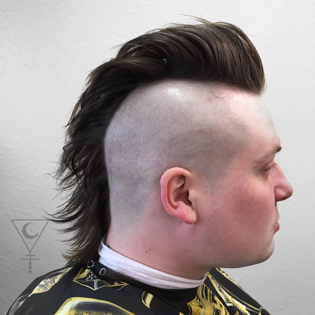 Cool mohawk haircut