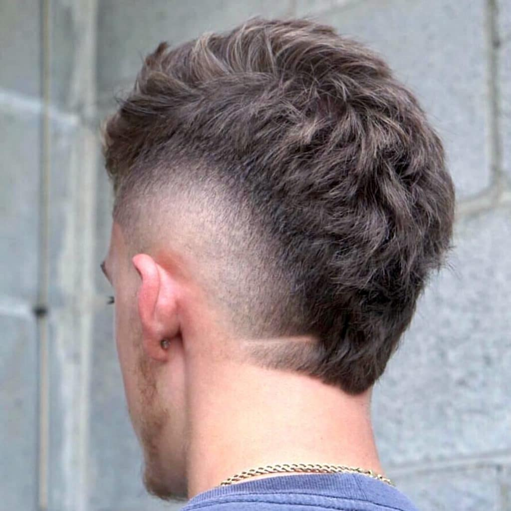 Short Mohawk Fade Haircut