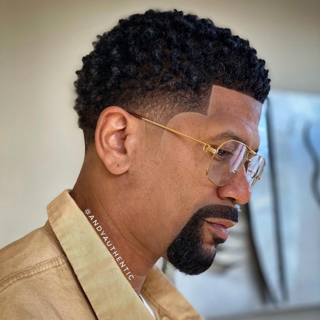 Types of fade haircut Black