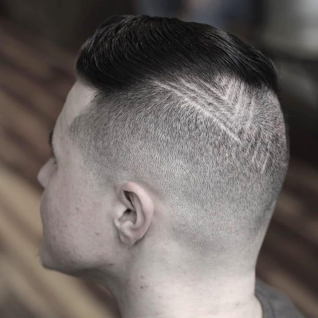 Disconnected haircut undercut