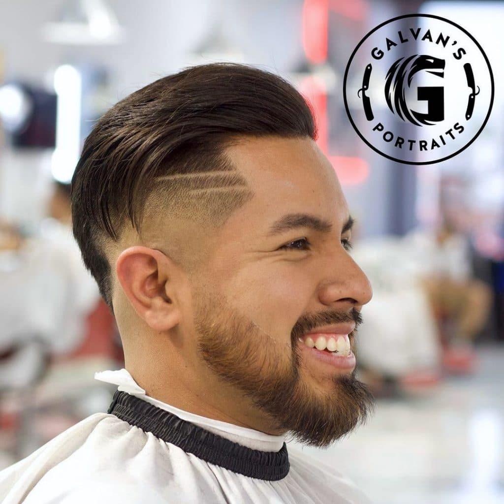 Latino fade haircut
