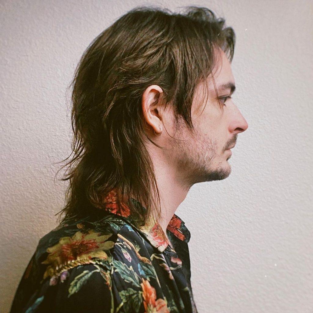 Long fine hair men