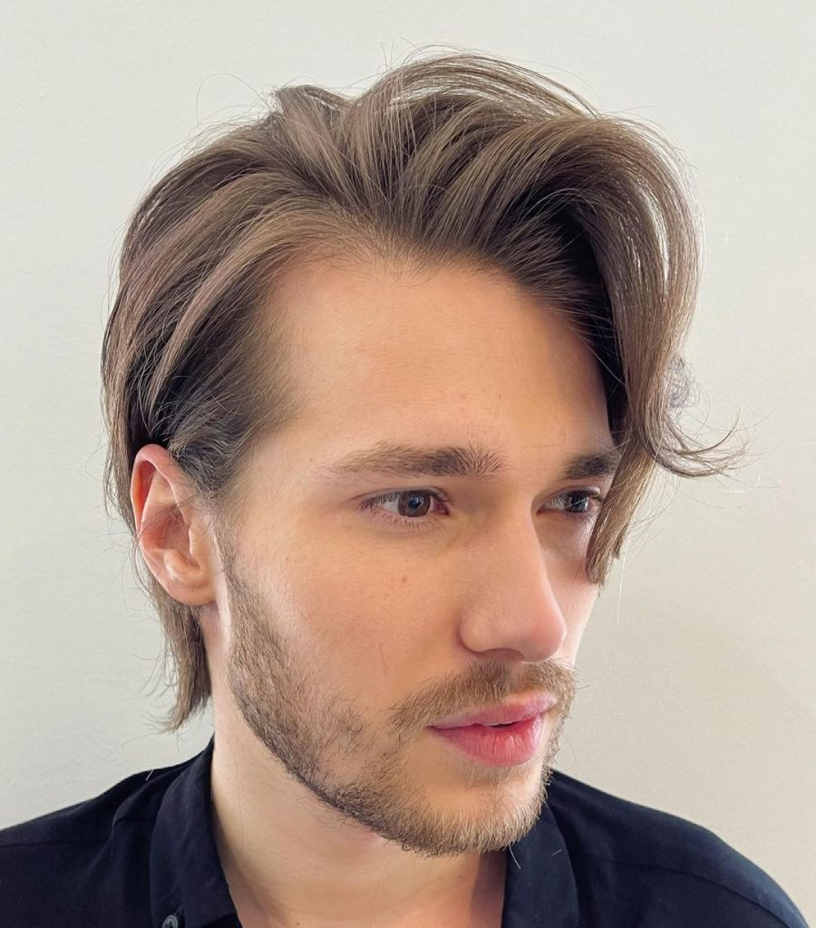 Loose flow men's medium haircuts