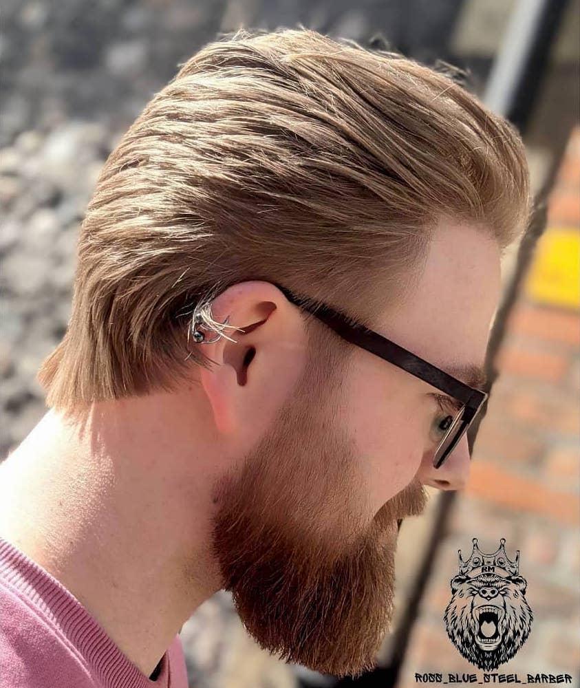 Mullet hairstyles men