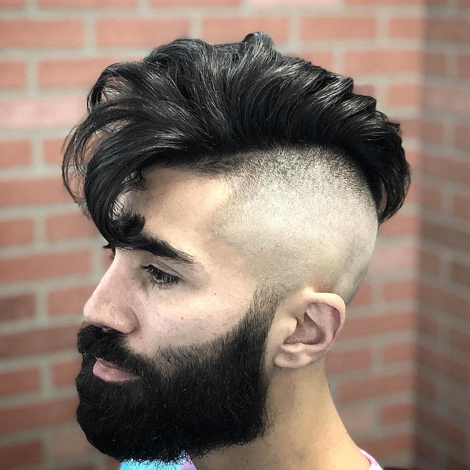 Mohawk haircuts for men