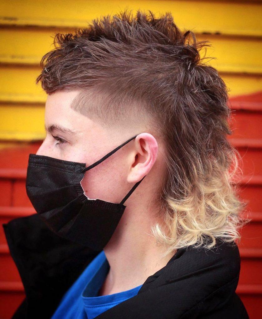 90s mullet haircut men