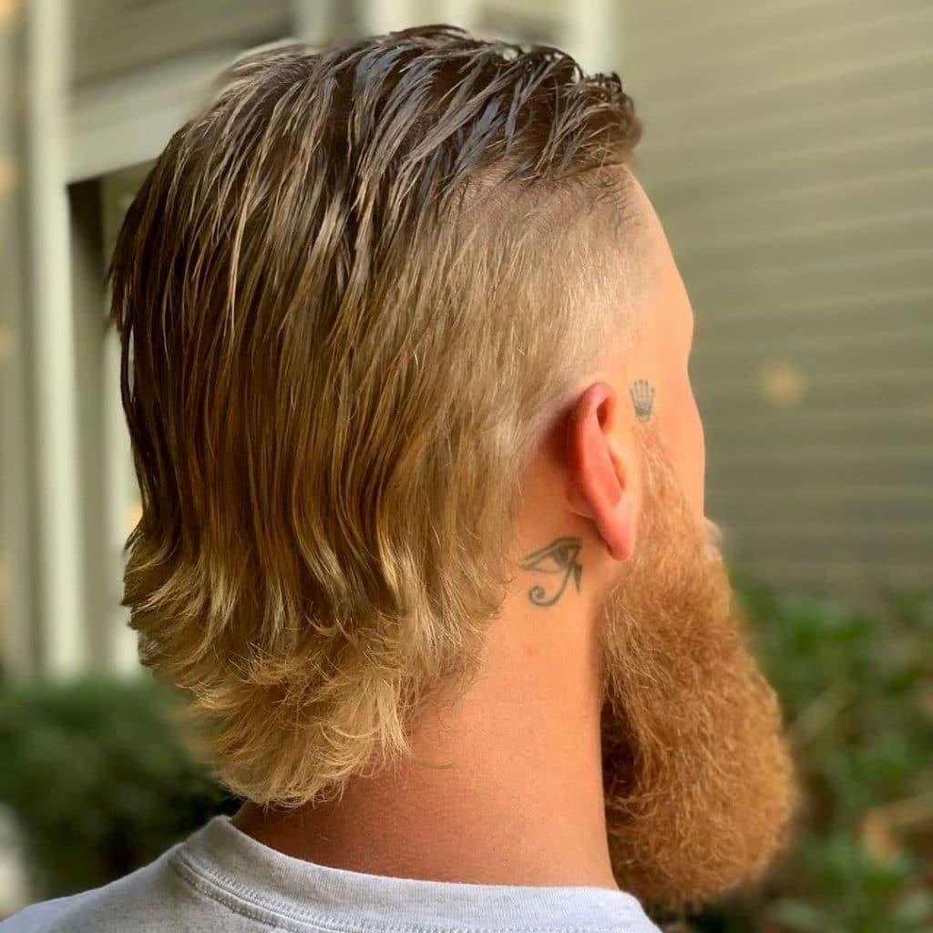 Hockey hair and beard