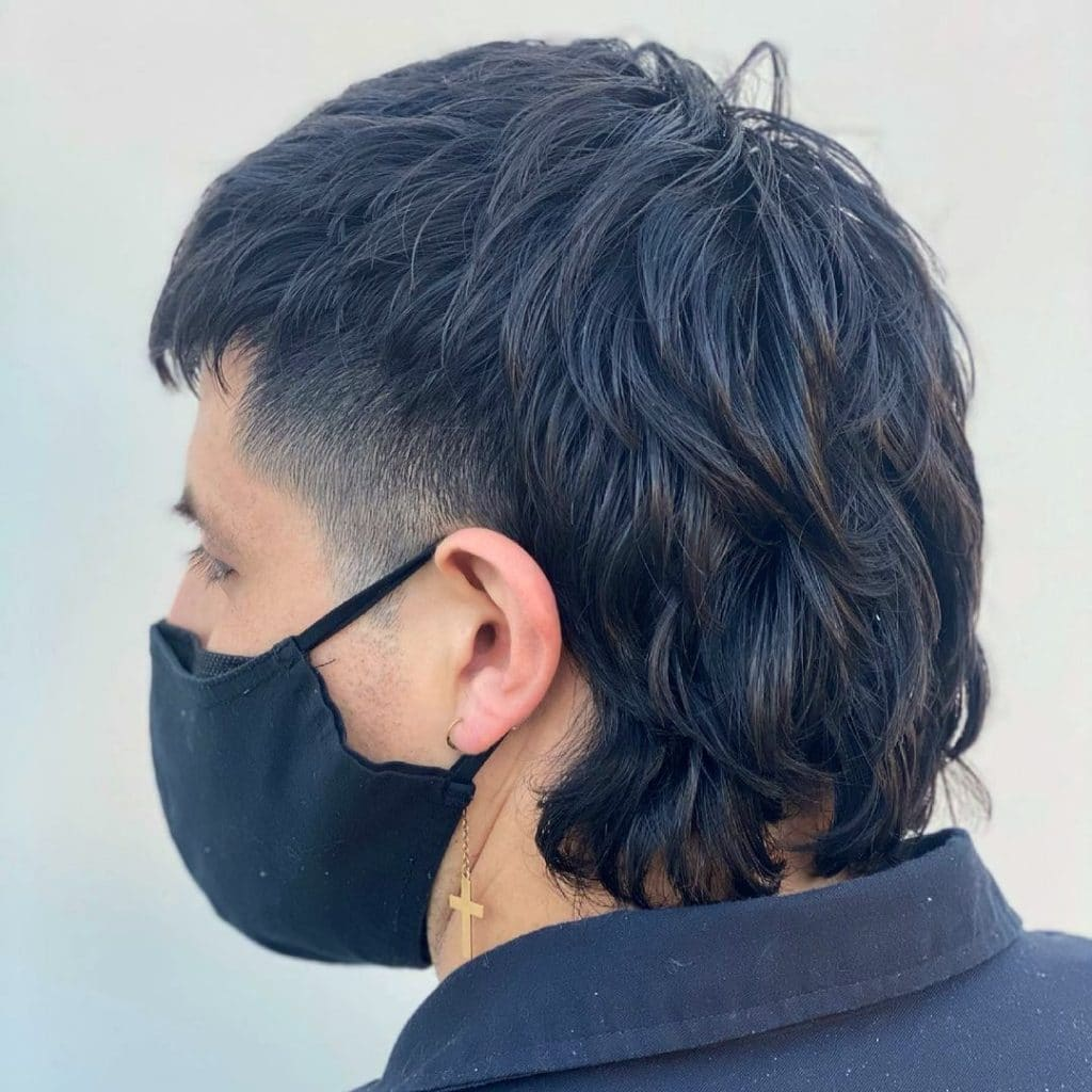Mullet haircut for thick hair