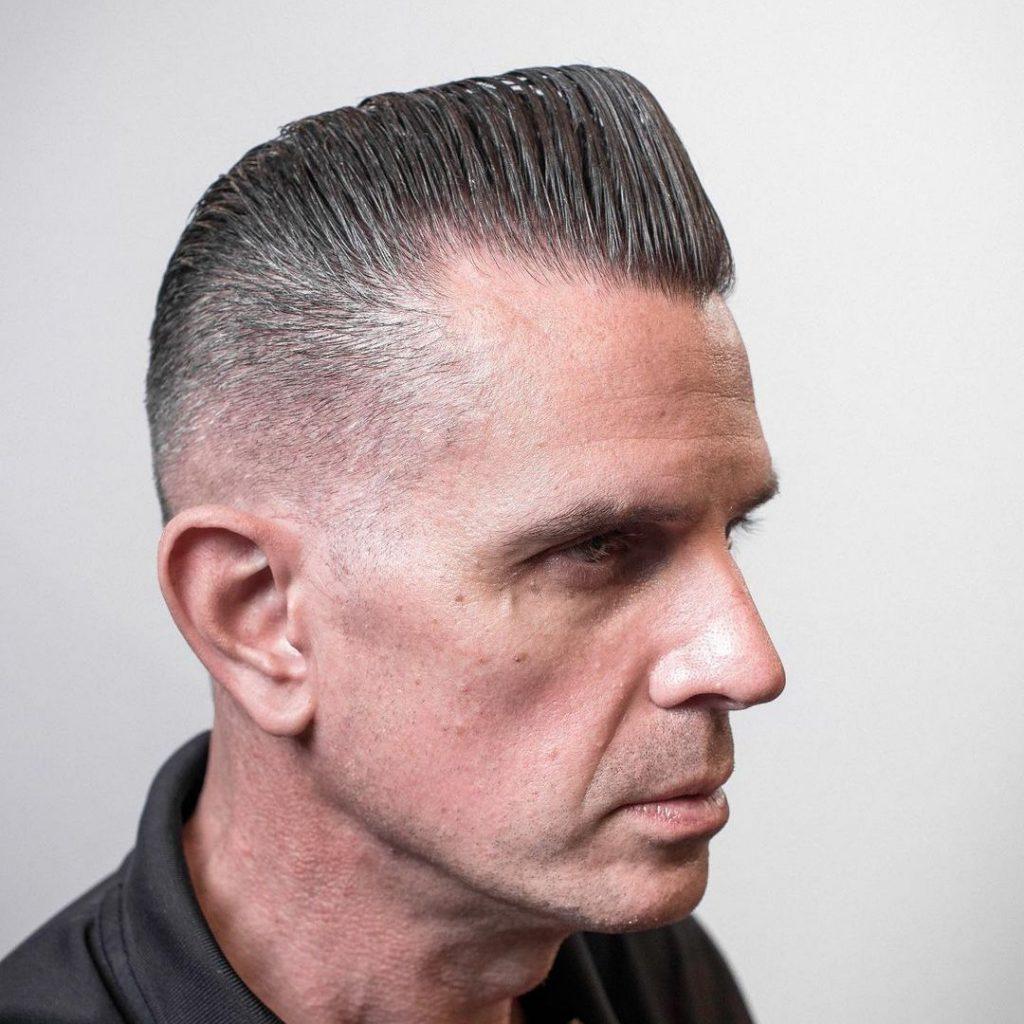 Older man haircut