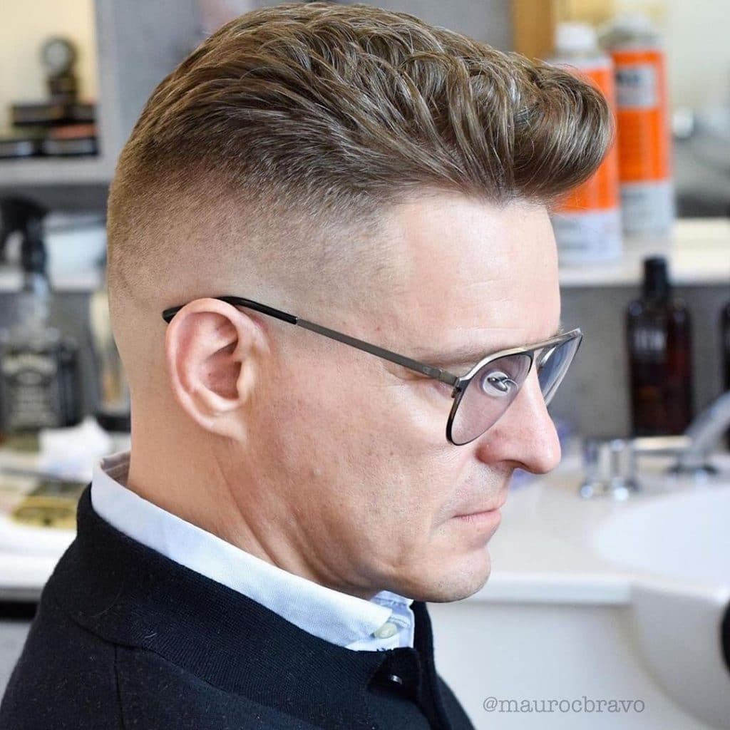 Fade haircuts for older men