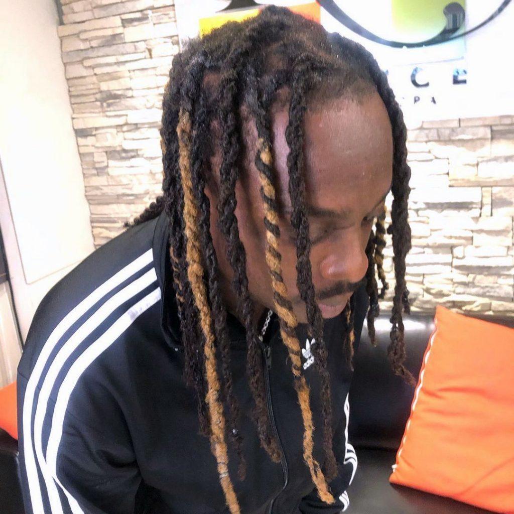 Dreadlocks hair twists men