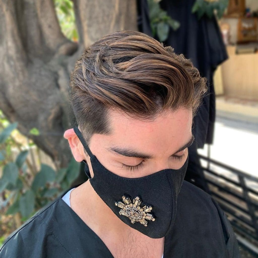 Brown Highlights for Dark Hair