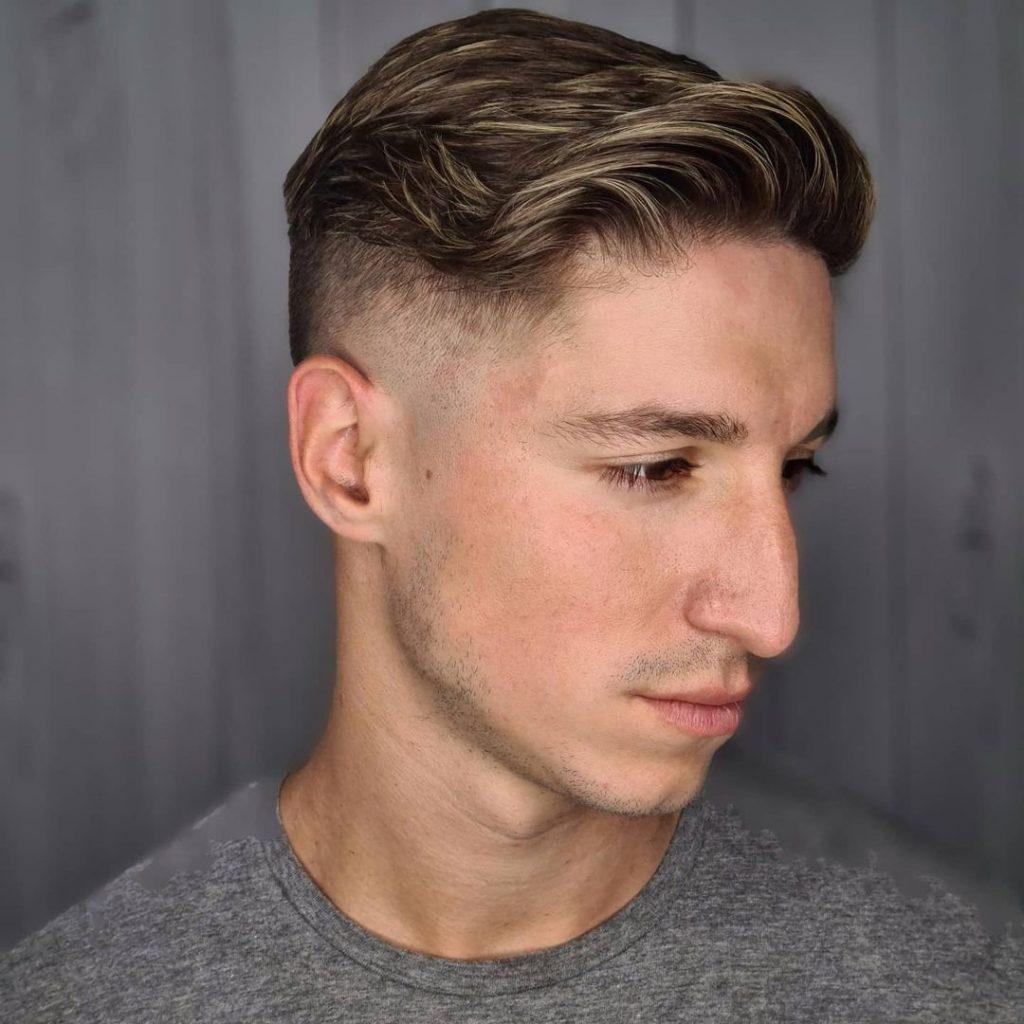 Highlights For Dark Hair Men