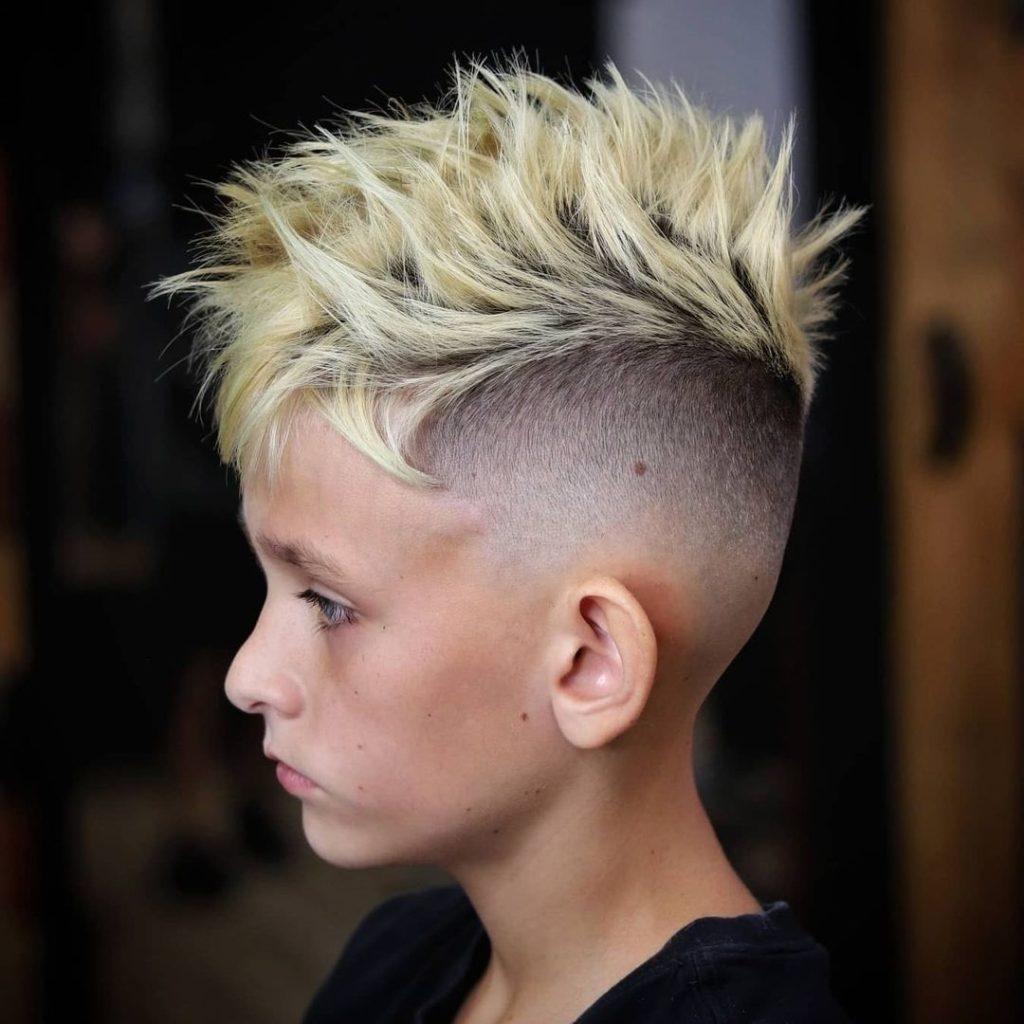 Faux Hawk Mohawk Hairstyle