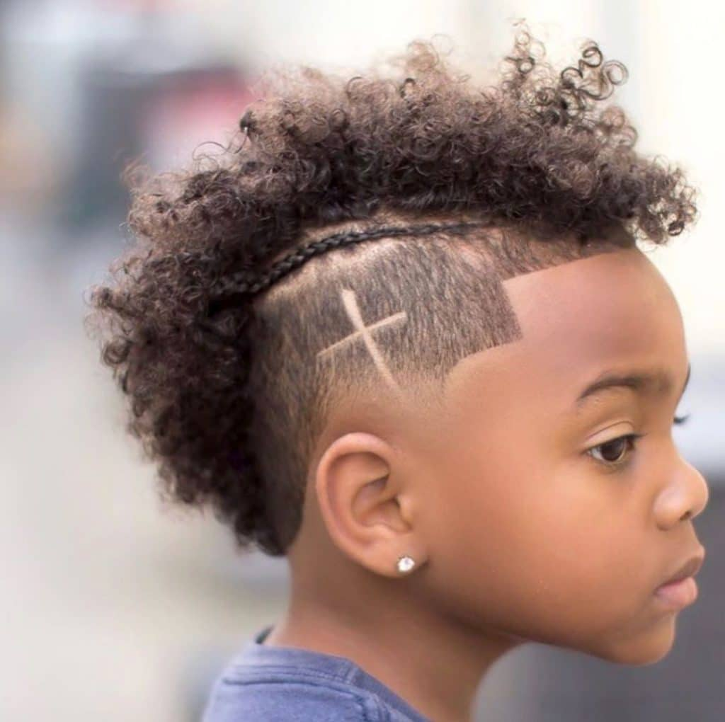 Mohawk Haircut For Little Black Boys