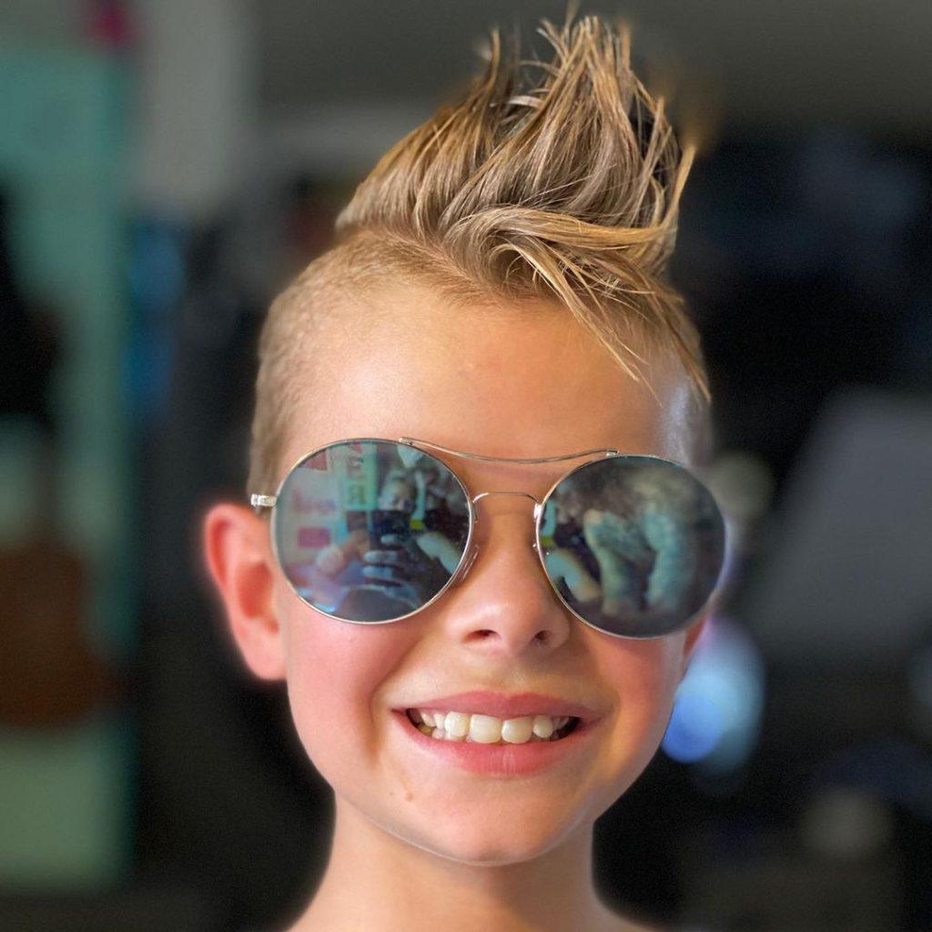 Kid's Mohawk Haircut